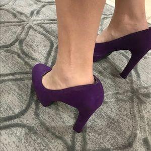 Mossimo Supply Co. Shoes - Cute Purple Heels!
